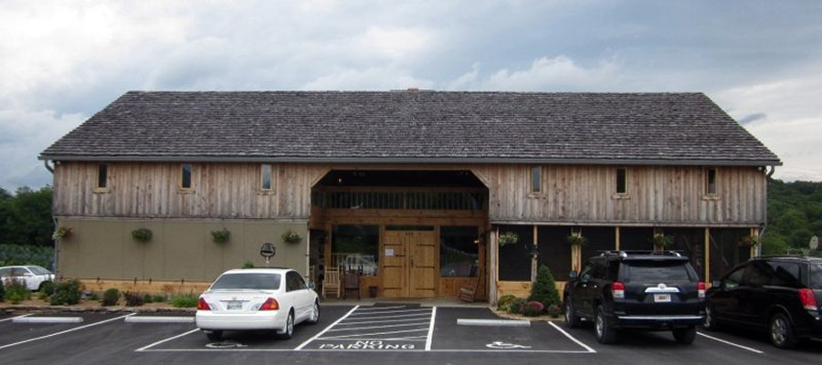 Ole Barn Family Restaurant in Johnson City, Tennessee is also a great wedding venue and  reception venue with all you can eat breakfast, lunch & supper