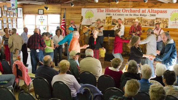 Apple Orchard at Altapass; Great Dancing & Live Music; What to do in Avery County, NC