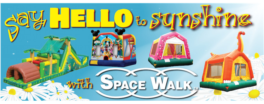 Space Walk of Tri-Cities, Tennessee has inflatables, bounce houses, and jump houses; located in Johnson City, Tennessee